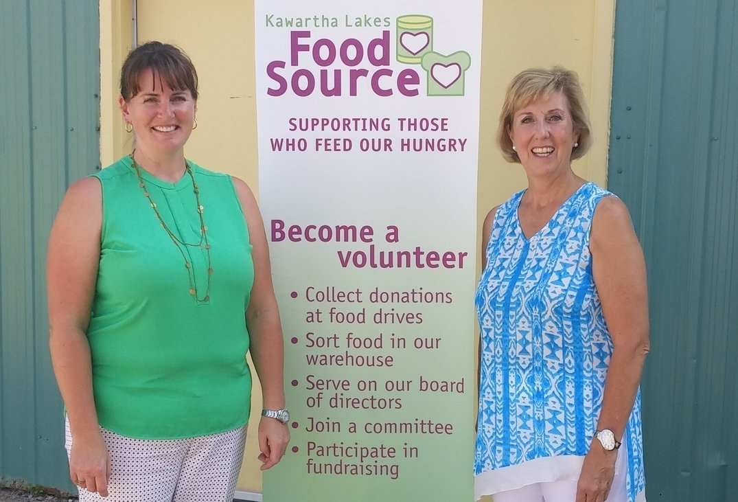MPP Scott shows her support for food security, basic income