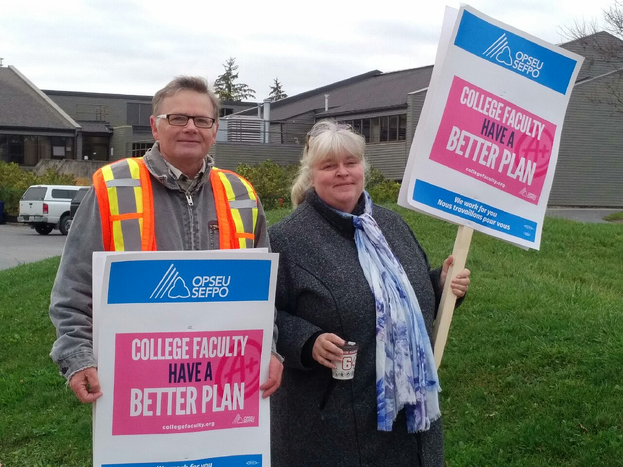 Frost students out in cold as union fights precarious work