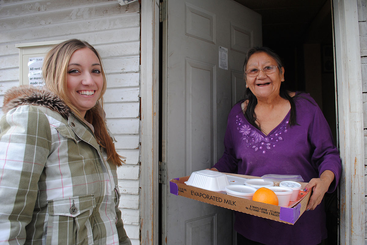 Meals on Wheels program – more than a meal