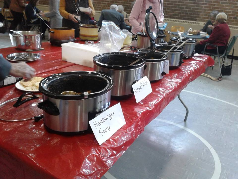 Soup surplus for homeless, thanks to Cambridge Street United Church