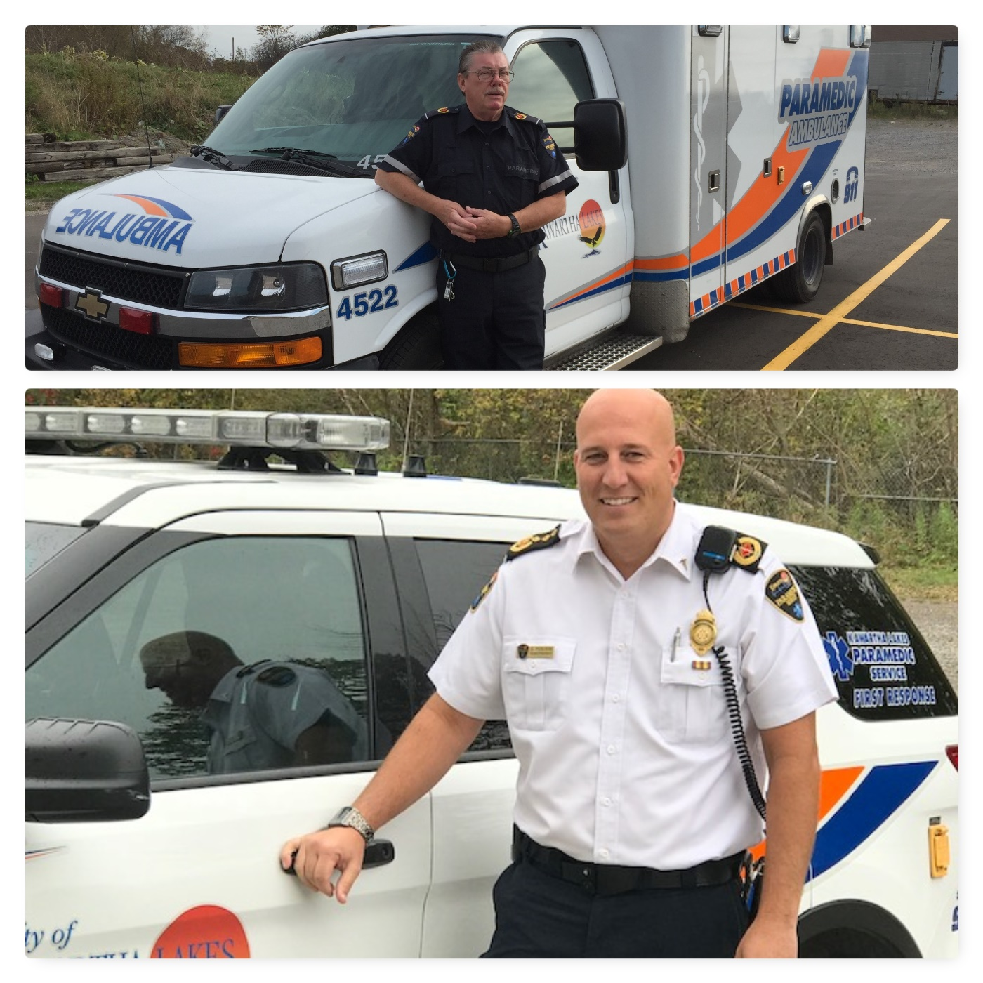 Two Kawartha Lakes paramedics receive exemplary service medals