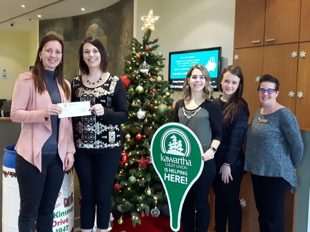 Kawartha Credit Union again supports Food For Kids program