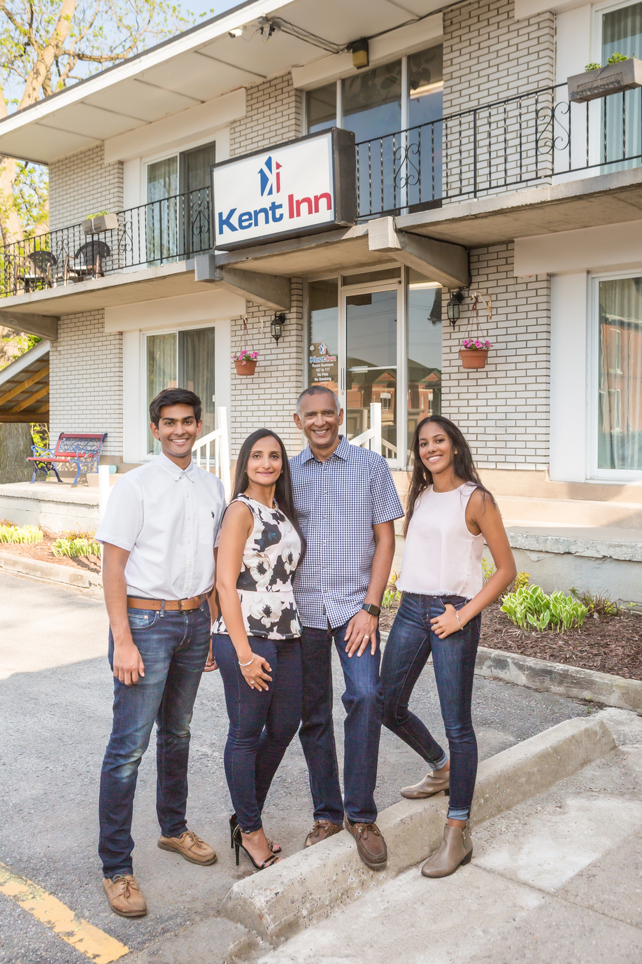 Patel family turns Kent Inn around and gives back to Lindsay community