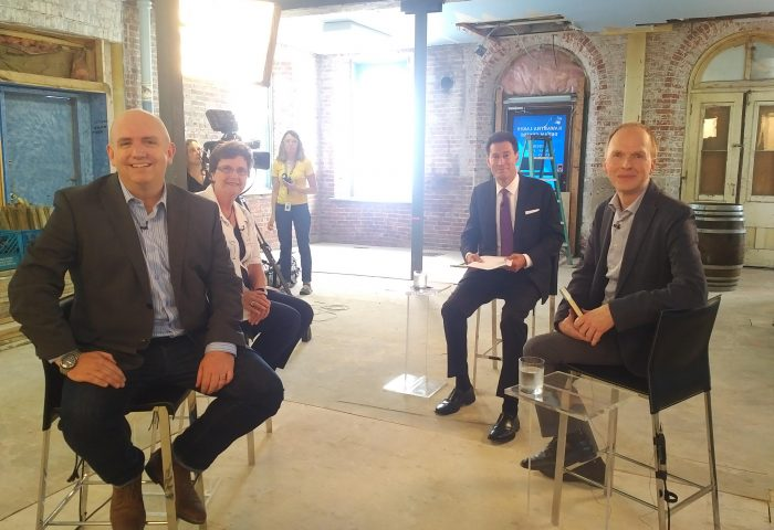 TV crew in Lindsay to film episode of The Agenda on basic income