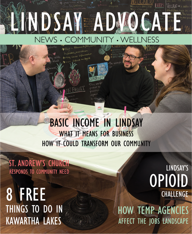 Lindsay Advocate launches monthly print magazine
