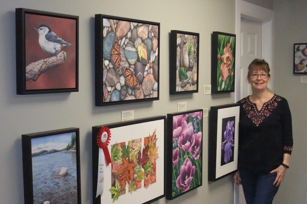 Local artist hosts spring open studio