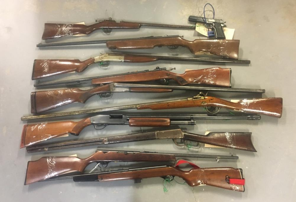 Gun amnesty update from police