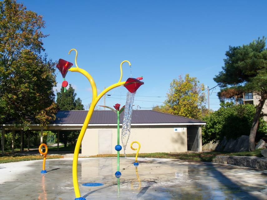 Making a splash: Grand opening of new Fenelon Falls splash pad