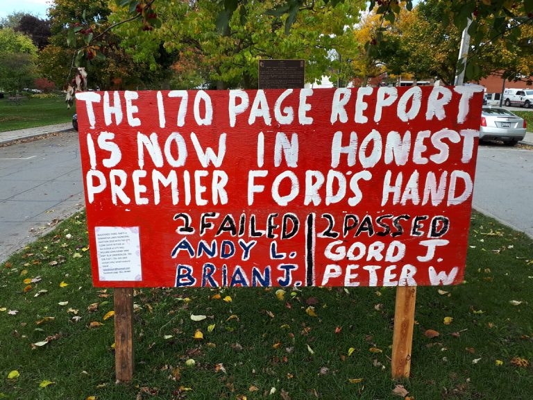 What is Ontario Proud doing in our election?