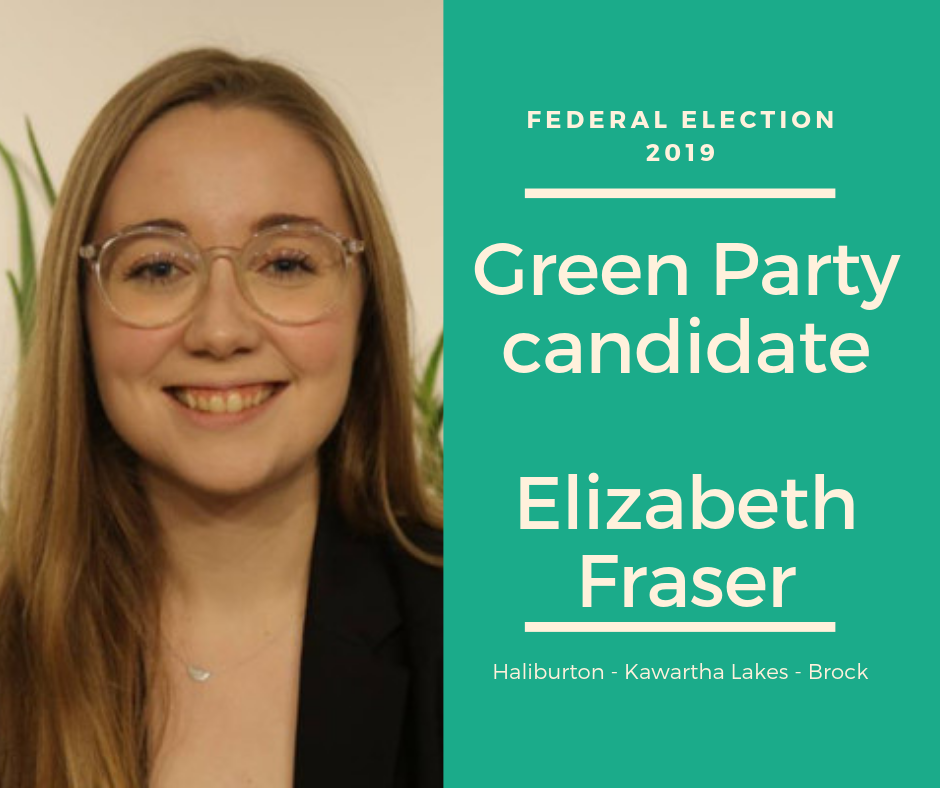 Bethany woman to represent Green Party here in October federal election