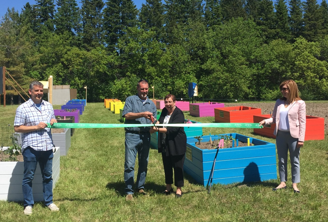 United Way unveils large scale community garden project