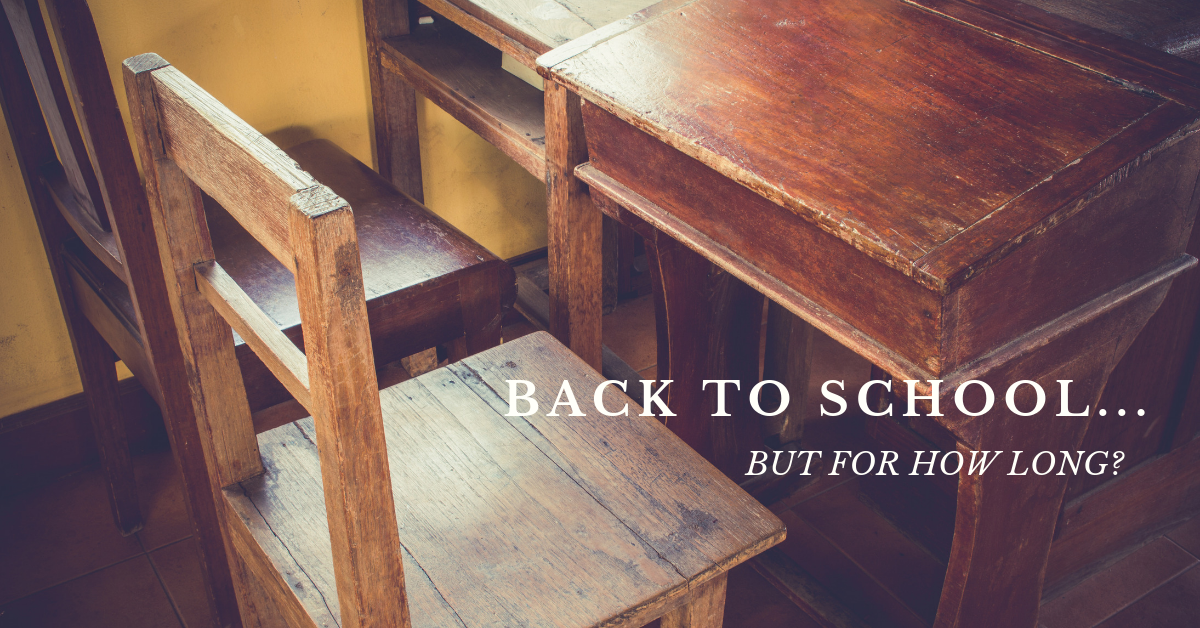 Teachable moment: Back to school under the shadow of cuts to education