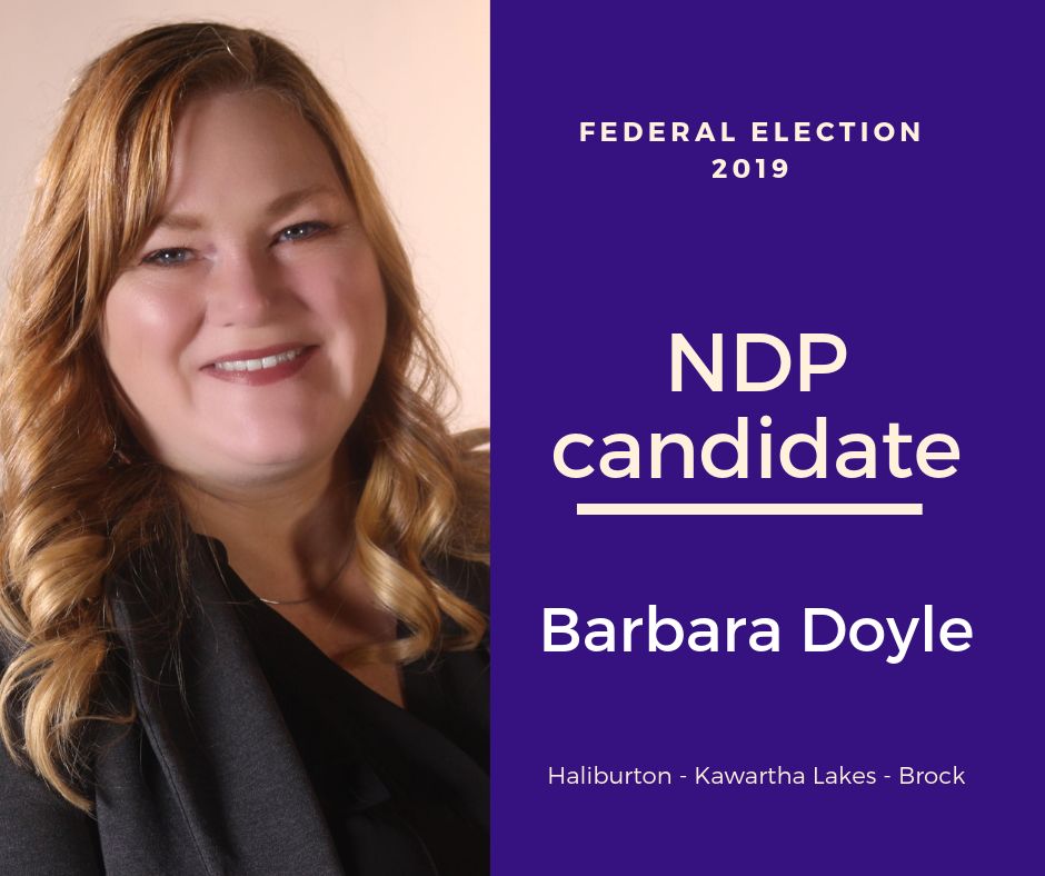 Federal election Q & A with Barbara Doyle of the New Democratic Party (NDP)