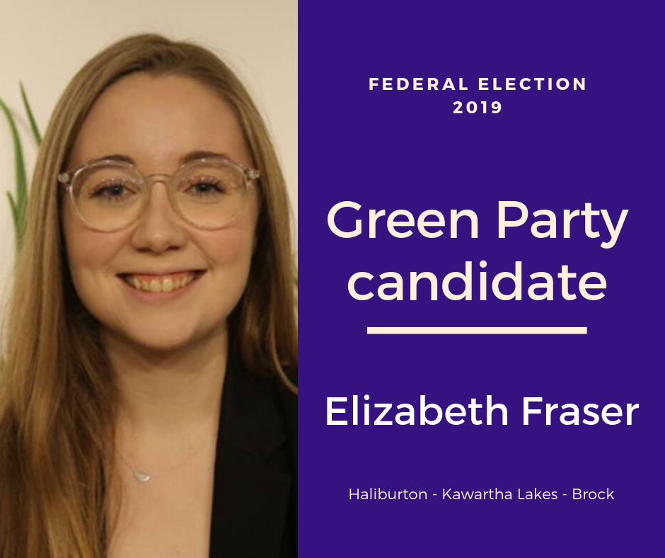 Federal election Q & A with Elizabeth Fraser of the Green Party of Canada