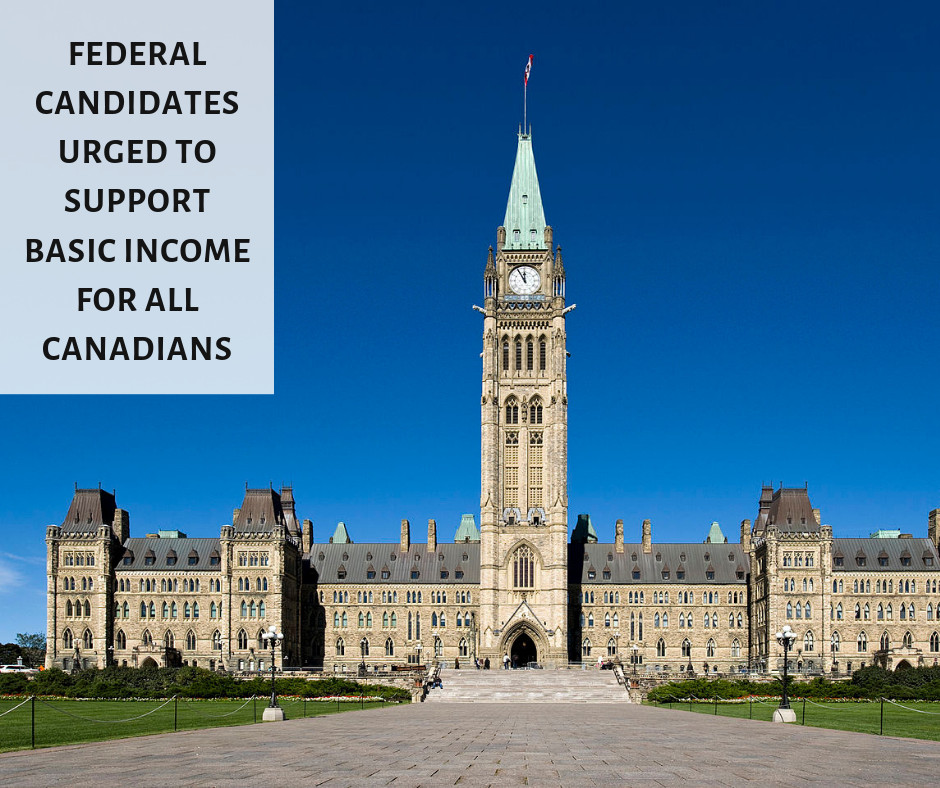 Basic Income Canada Network urges all federal candidates to support basic income