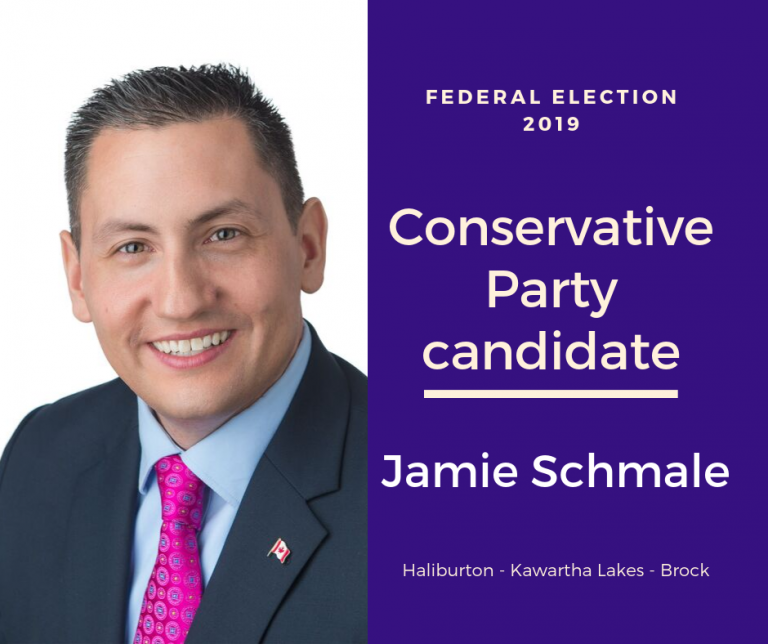 Federal election Q & A with Jamie Schmale of the Conservative Party of Canada