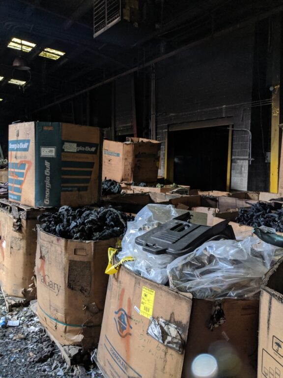 Plastic shock: Tonnes of waste destined for landfill from old Northern Plastic plant
