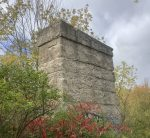 The Lindsay CPR bridge abutment. Photo: Ian McKechnie.