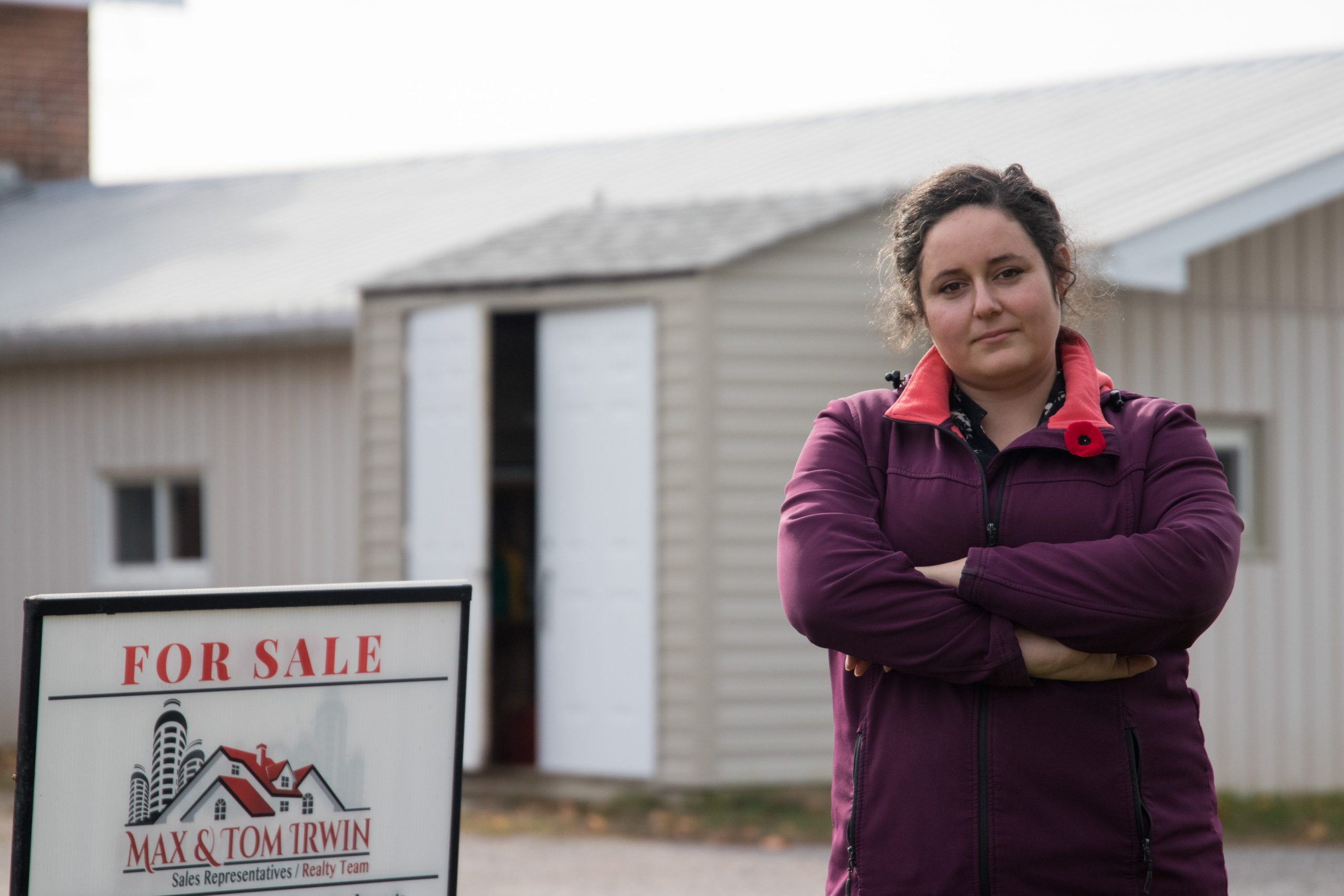 Kate Dorotheou, prospective fist time home owner