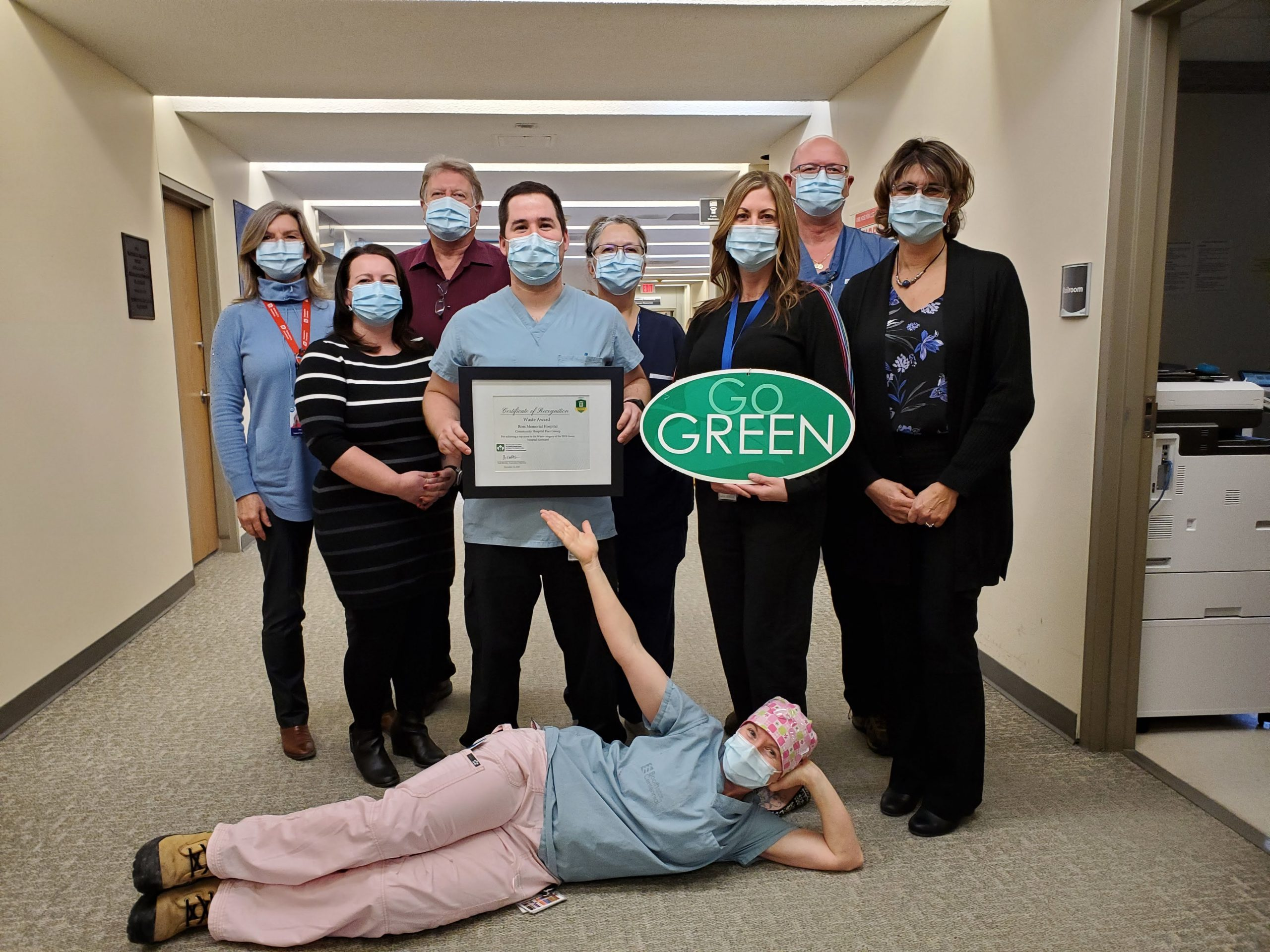 Ross Memorial Hospital Receives 2019 Green Health Care Award for Top Performer in Waste Category