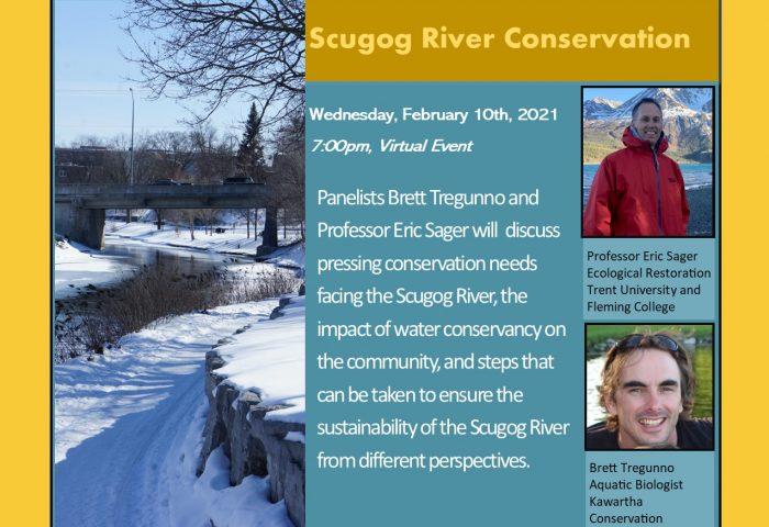 Scugog River Conservation event poster