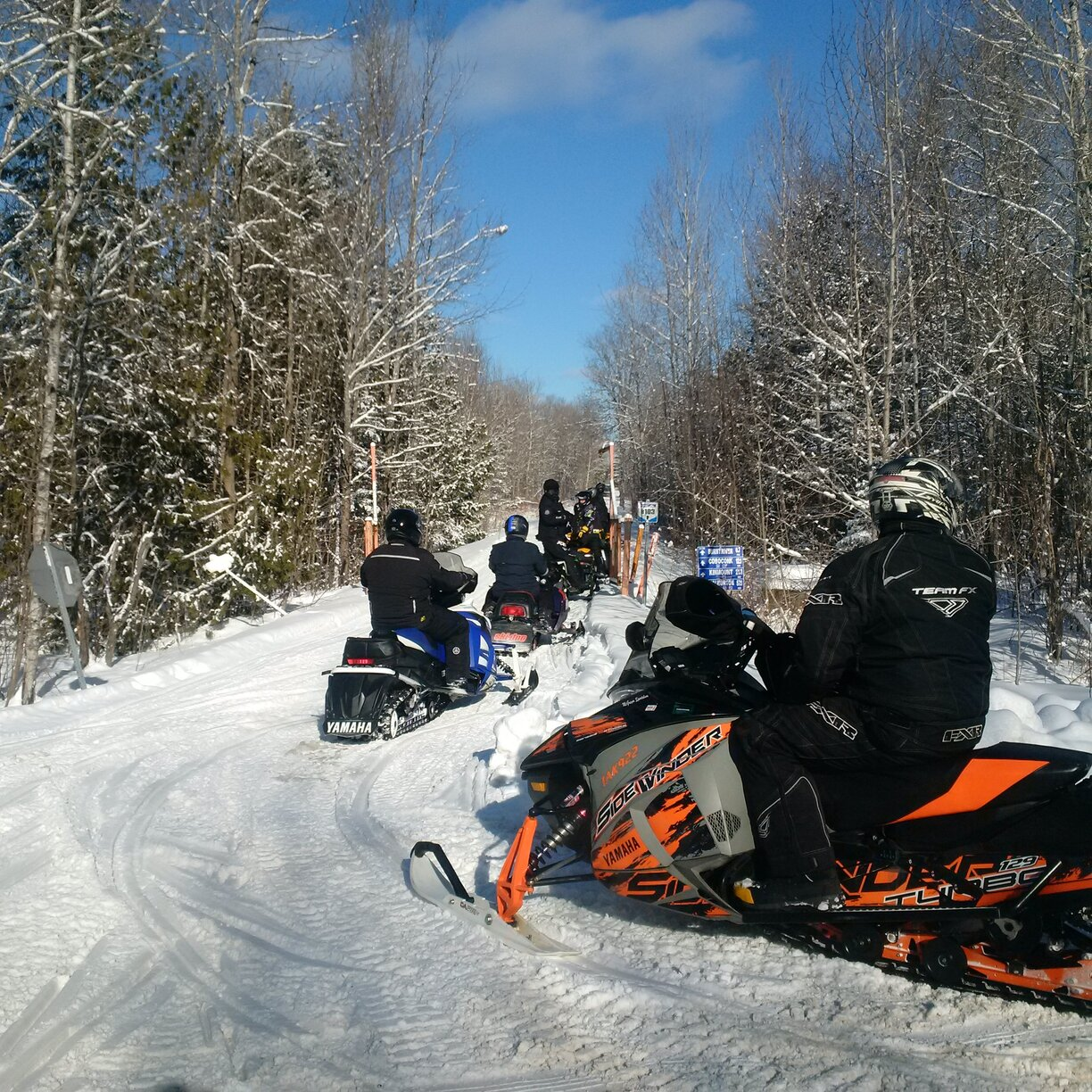 Happy Trails: Local snowmobiling club is a community effort
