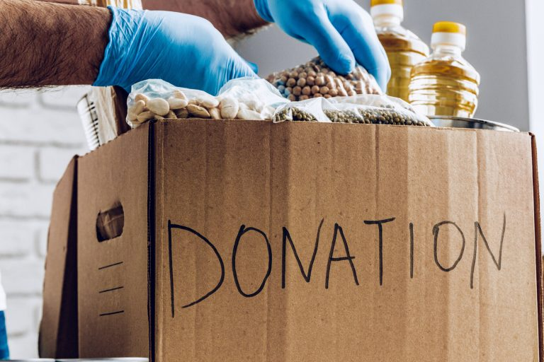 Food banks do not address issue of inadequate income